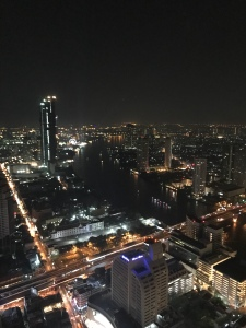 View of Bangkok from skybar