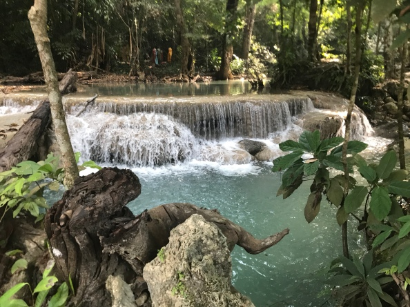 How to get to Erawan Falls from Bangkok